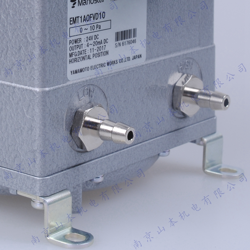 Manostar日本山本电机EMT1A0FVD+-20压力变送器
